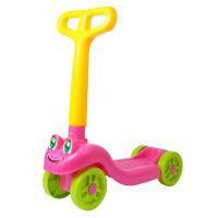 Скутер Технок Розовый с желтым (3657)