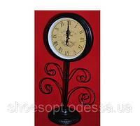 Классические настольные часы в стиле Прованс черные