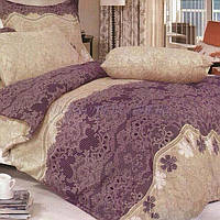 Нежное постельное белье с рисунком под кружево 50302