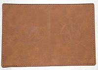 Шкіряна обкладинка для паспорту, фото 1