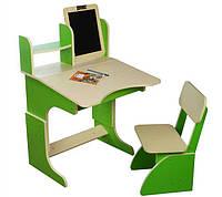 *Парта с мольбертом растущая + стульчик ТМ Финекс (цвета в ассортименте) арт. 101-103