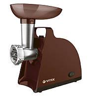 Мясорубка электрическая Vitek VT-3612 BN, електромясорубка, мясорубка електрична, электромясорубка витек