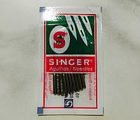 Иглы SINGER №110/18 (10шт) для швейных машин