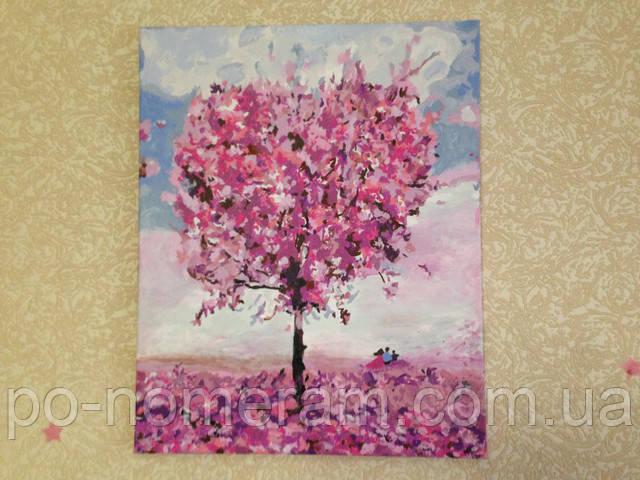 Картина по номерам Mariposa Дерево любви MR-Q1218