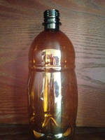 Бутылка пэт боченок, 1 л (пивная)