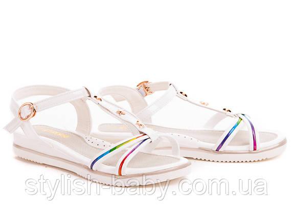 Детская обувь оптом. Детские босоножки бренда С.Луч для девочек (рр. с 31 по 36), фото 2