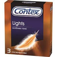 Презервативы латексные Contex Lights ультратонкие №3