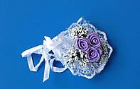 Цветочный Браслет на руку подружкам невесты.
