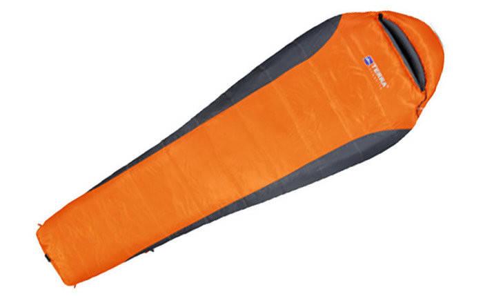 Спальный мешок Terra Incognita Siesta 300 (R) оранжевый/серый 4823081501657 + Бесплатная доставка по Украине, фото 2