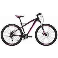 """Велосипед 27,5"""" Pride Roxy 7.3 рама - 16"""" черный/малиновый/розовый 2017"""