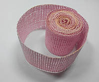 Сетка флористическая натуральная белая розовач