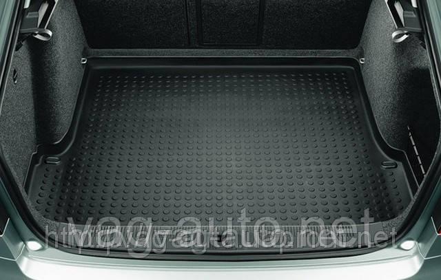 Коврик багажника пластик седан Octavia II