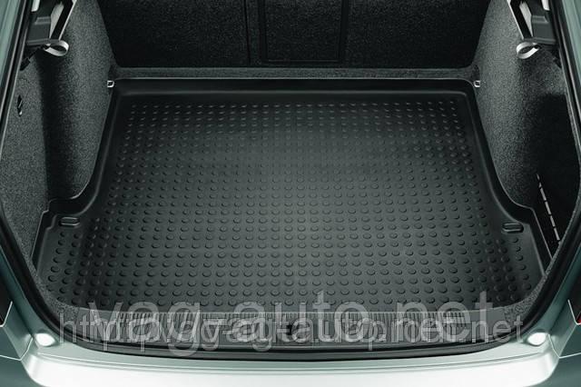 Коврик багажника пластик комби Octavia II