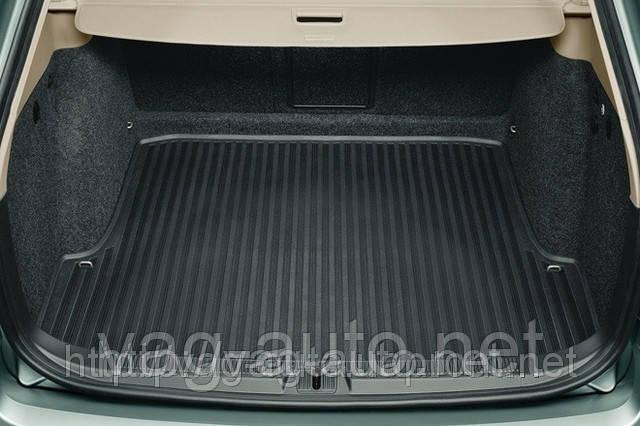 Гумовий килимок багажника Octavia II седан