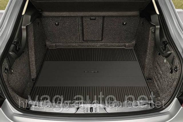 Гумовий килимок багажника Superb New седан