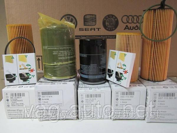 Фильтра комплект Skoda (Шкода) Superb 3U4 1.9TDI (AVF/AWX)