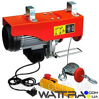 ⭐ Электро тельфер лебедка Forte FPA 1000 (1600 Вт / 990 кг) электротельфер