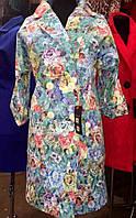 Стильное женское пальто в расцветках 40451