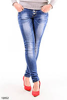 Женские джинсы скинни O-12852