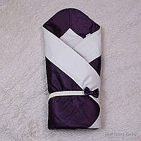 """Конверт одеяло нарядный """"Beauty"""" фиолетовый"""