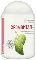 Хромвитал+ - энергия организма. Нормализует уровень сахара в крови - интернет - магазин БАД Vision в Киеве