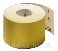 Наждачная бумага (шлифшкурка) Klingspor желтая в рулоне Р100