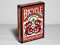 Карты игральные | Bicycle Dragon Red