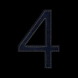 Картинка для цифры 4