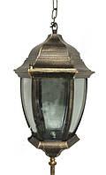 Светильник LEMANSO PL6665 античное золото на цепочке 100W