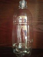 Бутылка пэт боченок, 1 л, прозрачная (пивная)