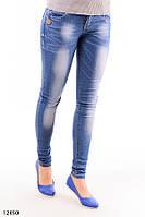 Женские джинсы скинни O-12850