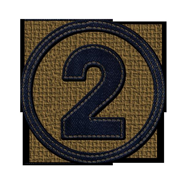 Картинка для цифры 2 два