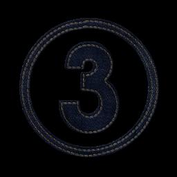 Картинка для цифры 3 три