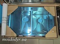 Мойка AquaSanita Luna 151NR  из нержавеющей стали врезная , фото 1