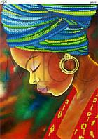 """Схема для вышивки бисером """"Африканка"""""""