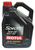 Моторное масло Motul Specific 504.00-507.00 5W-30 (5L)
