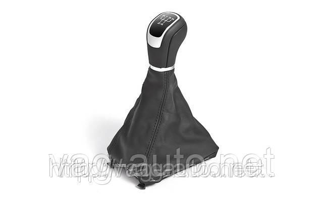 Рукоятка КПП с чехлом кожа Superb New