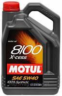 Моторное масло Motul 8100 X-cess 5W-40-C3 (5L)