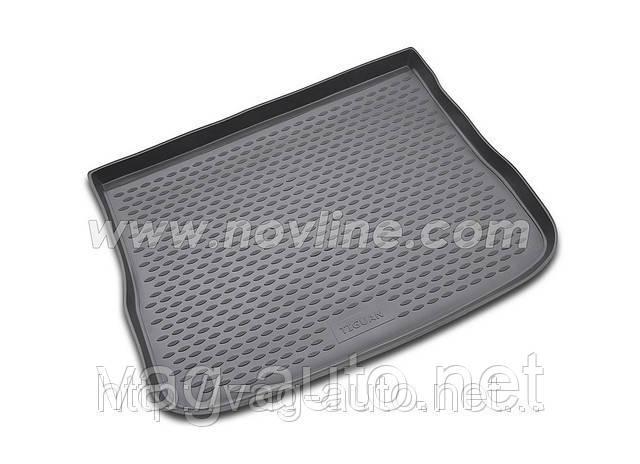 Килимок багажника поліуретан VW Touareg 2010->, крос 2-х зонний клімат-контроль