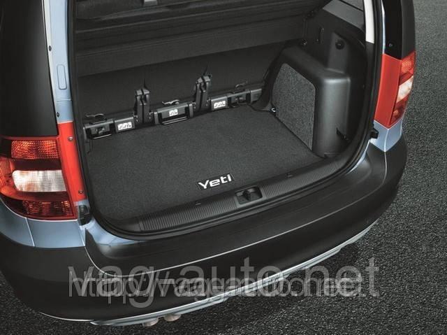 Коврик багажника текстиль Yeti