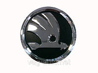 Эмблема SKODA в новом стиле для Octavia A5 передняя