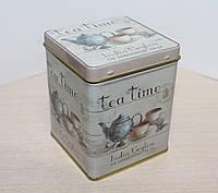 """Банка для хранения чая или кофе """"Чайная компания"""" 100 гр"""