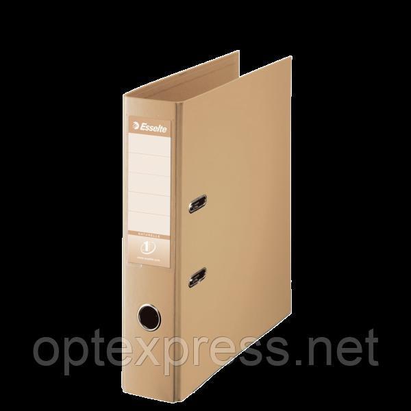 Папка-регистратор A4 Esselte No.1 Power, 75 мм, Naturelle, кофейный
