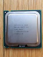Процессор Intel Core 2 Duo E8600 SLB9L гарантия+термопаста в подарок!