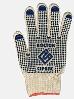 """Перчатки рабочие хб с покрытием ПВХ """" Восток сервис """""""