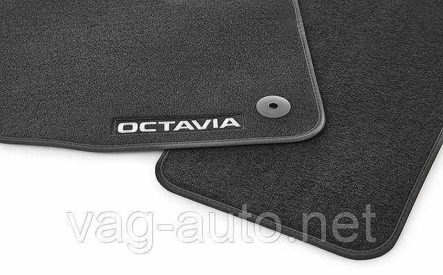 Коврики в салон текстиль (полипропилен) Octavia III (A7)