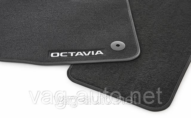 Коврики в салон текстиль (полиамид) Octavia III (A7)