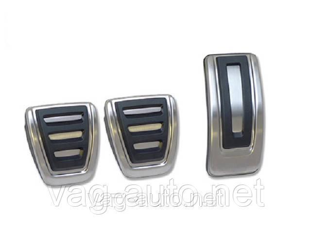 Накладки на педали в стиле RS Fabia III
