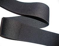 Резинка черная, гладкая, тугая, 4см, фото 1