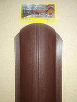 Металевий євроштахетник матова, ширина 10,5см (товщина 0,5мм), фото 1
